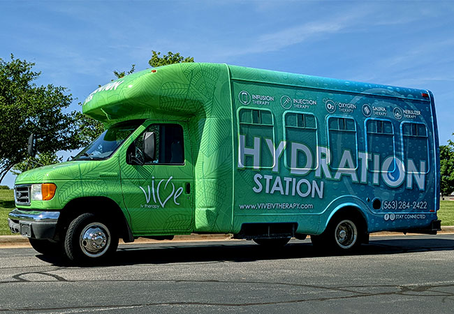 Mobile IV Hydration Station